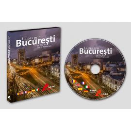 """DVD film """"La pas prin București"""""""